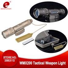 야간 진화 전술 손전등 사냥 랜턴 WMX200 IR 총 라이트 Airsoft 사냥 램프 무기 총 라이트 NE04014