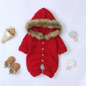 LZH 2020 Autumn Infant Hooded Knitting Jacket For Baby Clothes Newborn Coat For Baby Boys Girl Jacket Winter Kids Outerwear Coat 18