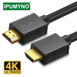 HDMI Cable 4K 1080P 60HZ HDMI To HDMI 2.0 Aux Cable For Xiaomi Apple TV Box Switch Projector Pc Monitor Laptop Video Cable HDMI