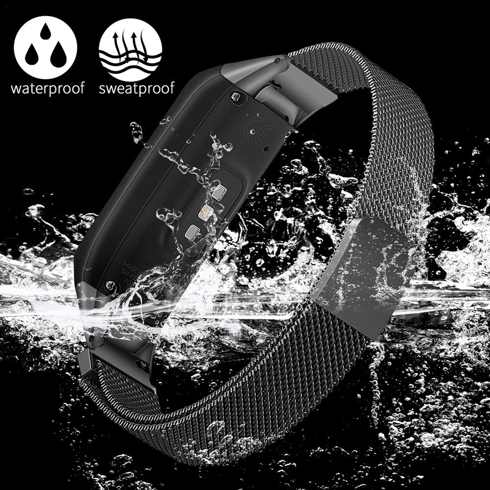 Fashionable Replacement Watch Band Milanese Stainless Strap Wristband With Magnetic Buckle For Galaxy Fit SM-R370 Smart Bracelet