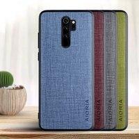 Fall für Xiaomi Redmi Hinweis 8 pro 8T 2021 Kreuz muster PU leder mit PU + TPU 2 in1 material, telefon abdeckung für Redmi hinweis 8 2021