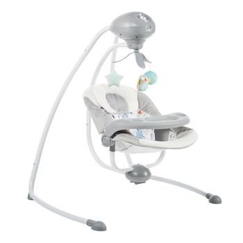 Electric swing Baby rocking chair baby electric color cartoon cradle comforting baby artifact shake bed Mobile phone remote baby rocking chair baby electric rocking chair to appease the cradle bed children s dining chair rocking chair with remote cont