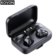 2020 New S15 TWS Bluetooth Earbuds Wireless Earphones Auto Pairing HiFi Stereo In-Ear Headset with LED Display wireless earbuds bluetooth 5 0 earphones auto pairing bluetooth headset tws stereo in ear hifi true wireless earbuds