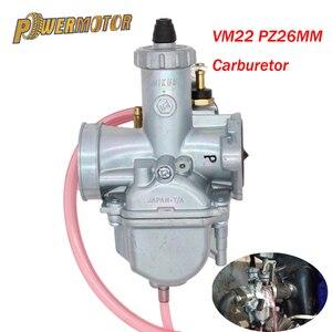 Карбюратор Mikuni VM22, карбюратор высокого качества для 125cc 140cc Dirt Pit Bike XR50 CRF70, аксессуары для карбюраторов, запчасти