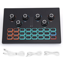 Auxiliary-Tools Live-Sound-Card 34 Computer-Games Support Mobile-Phone Functions SC01