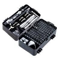 Juego de destornilladores S2 135 en 1, juego de brocas de precisión multifunción para reparación de teléfonos móviles, Kit de herramientas de mano Torx Hex