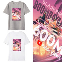 2019 BLACKPINK Surrounding t shirt women/men Should help clothes play clothes fashion tshirt tops womens tees(China)