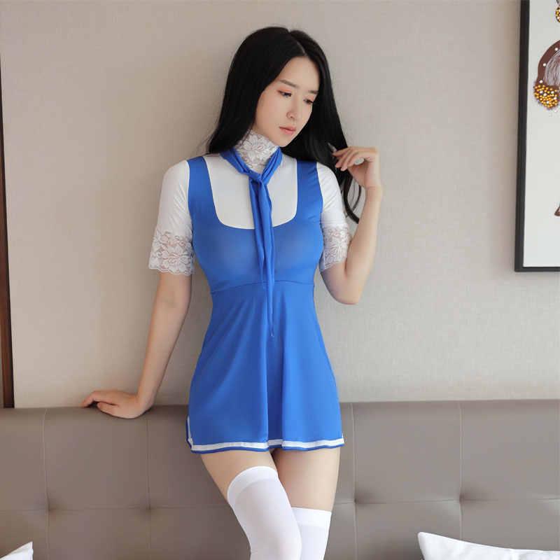 ญี่ปุ่นผู้หญิงเซ็กซี่ SEXY คอสเพลย์ Lace MINI กระโปรง Patchwork  โรงเรียนผูกเน็คไทสาวแม่บ้านจีบแน่นชุดแม่บ้าน STAGE  สวมเครื่องแต่งกาย|ชุดเซ็กซี่| - AliExpress