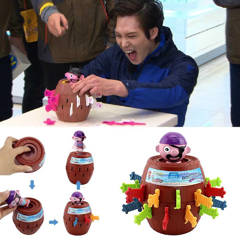 Drôle nouveauté enfants enfants drôle jeu chanceux Gadget blagues délicat Pirate baril jeu NTDIZ1040