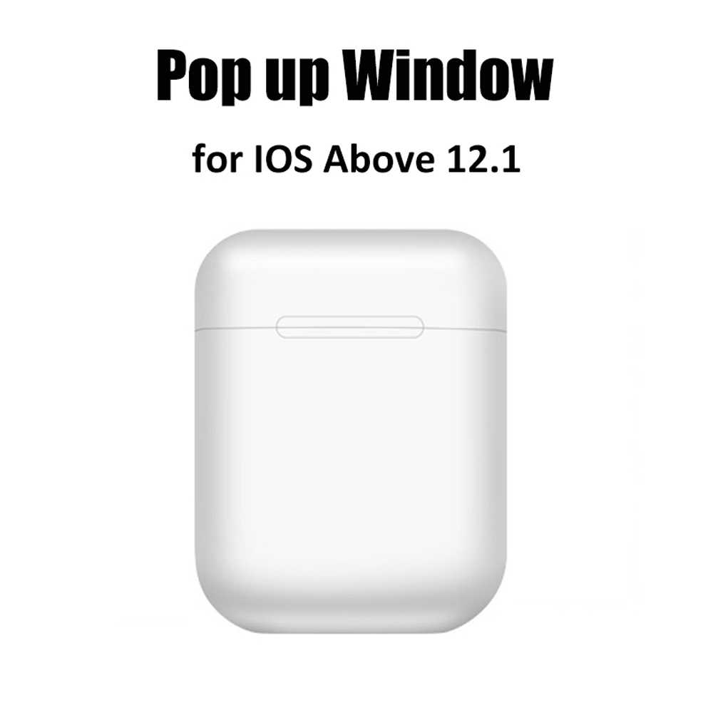 マカロン i12 tws ワイヤレスイヤホン Bluetooth 5.0 ヘッドフォンヘッドセットオリジナルタッチポップアップ真ステレオイヤフォン用電話