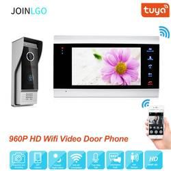 Freies Verschiffen 960P AHD WIFI IP 7 Touch Screen Video Intercom Tür Telefon Aufzeichnung System Phone Remote View entsperren Tür Kamera