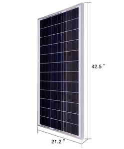 Image 3 - 80 واط لوحة طاقة شمسية مجموعة الصين 18 فولت بوليسيليكون الخلايا الشمسية تهمة 12 فولت البطارية الضوئية لوحة طاقة شمسية s للمنزل مع تحكم 10A