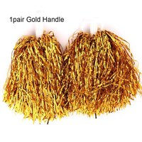 1Pair  Gold Handle