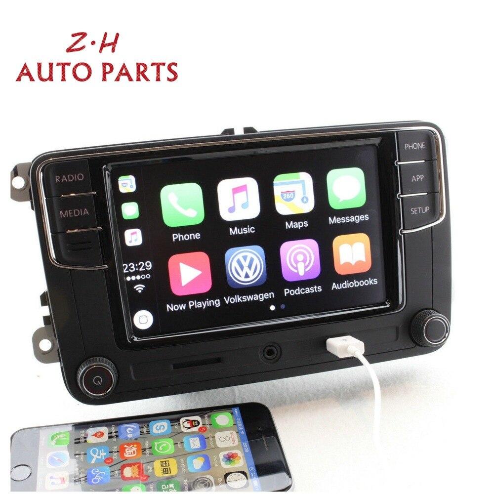 NUOVO 6.5 ''MIB RCD330 Più CarPlay Radio Player 6RD 035 187 B Per VW Golf Jetta Passat B6 Eos polo 1GB di RAM Supporto Bluetooth USB - 2