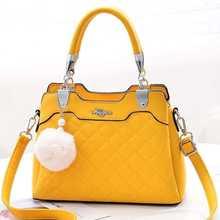 Bag Female 2019 New Trend Fashion Simple and Elegant Ladies Handbag Shoulder Womens Handbags Purses PU Zipper