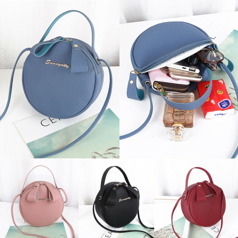 New Style Simple Sense Fashion Joker Shoulder Bag Ladies Leather Diagonal Cross Bag Messenger Satchel