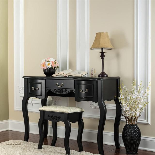 Vanity Set  w/ 3 Mirrors and 5 Drawers  2