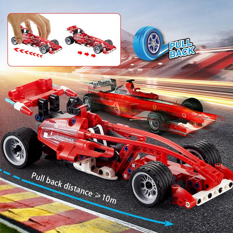 Cada C52016W C52017W Speed Racing Pull Back Car