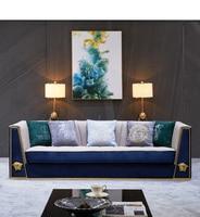 living room Sofa set диван мебель кровать muebles de sala 3 seater chesterfield cloth fabric sofa cama puff asiento sala futon