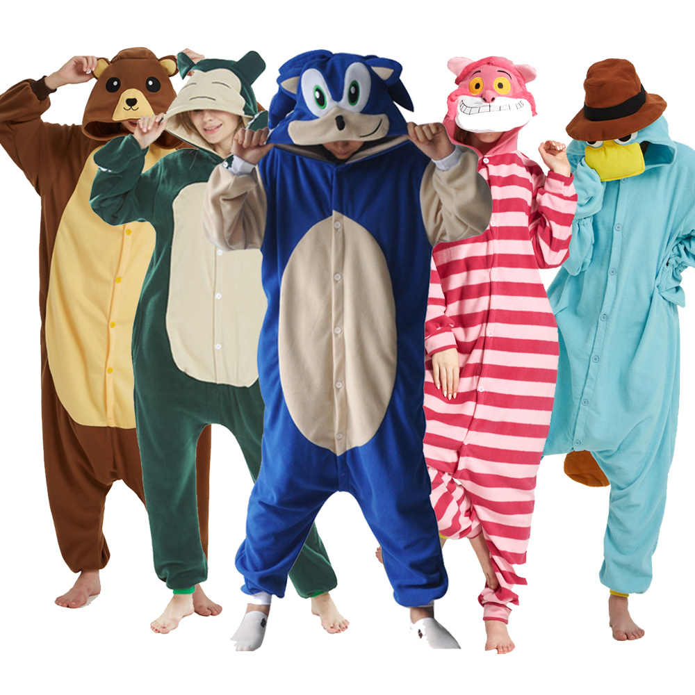 Grand pyjama XXL, sonique Kigurumi, Costume Animal pour adulte, 180-200CM, One-Piece, dessin animé, One-Piece