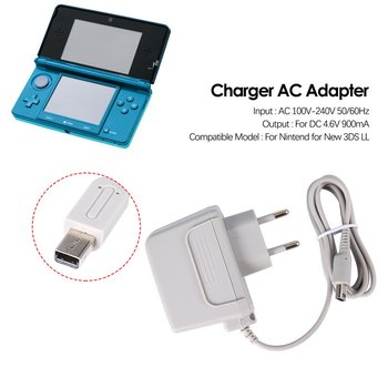 EU Charger AC Adapter voor Nintendo voor nieuwe 3DS XL LL voor DSi DSi XL 2DS 3DS 3DS XL eu us plug charger ac adapter for nintendo for new 3ds xl ll for xl 2ds 3ds 3ds xl