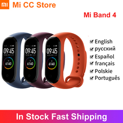 Xiaomi Mi Band 4 Bracelet Heart Rate Fitness Tracker Bluetooth5.0 Sport Waterproof 3 Color AMOLED Screen Smart Band