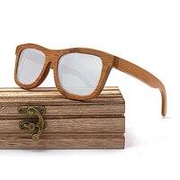 Wayfarer Full - Bambou Foncé - Silver - Coffret en bois