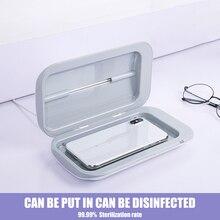 Boîte de stérilisation UV Portable, armoire de désinfection pour téléphone Portable, Double lampe de désinfection à rayons ultraviolets