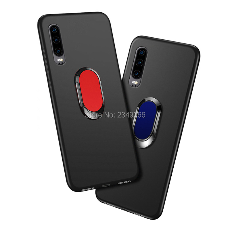 Case for Huawei P30 Cover ELE-L09 ELE-L29 6.1 inch Soft Black Silicone Cover for Huawei P30 Phone Cases