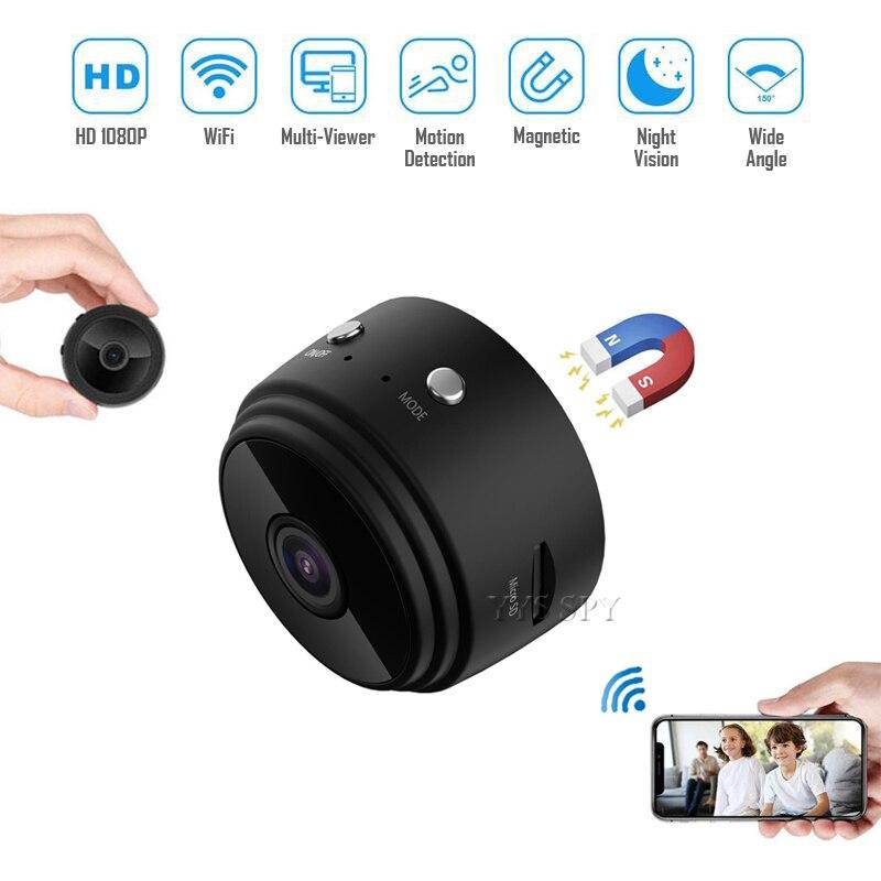 Mini Video Überwachung Kamera Home Security WiFi Microcamera Drahtlose cctv Überwachung Camcorder IP Cam Unterstützung Versteckte TF Karte