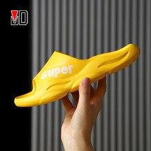 Mo Dou – pantoufles d'intérieur EVA Super confortables, chaussures de maison, salle de bain, douces, antidérapantes, de qualité, concis, confortables, nouvelle collection 2021