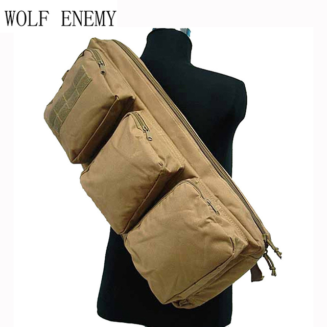 62cm/24.4'' Tactical Airsoft Rifle Backpack Hunting Shooting Gun Bag Military Army Rifle Case 2