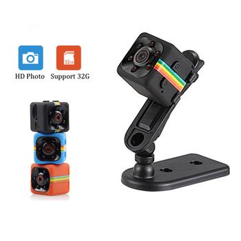 kamera szpiegowska ukryta kamera SQ11 Mini kamera bezpieczeństwa 1080P HD czujnik noktowizor rejestrator kamera ruch mikro kamera Sport DV kamera wideo SQ16 kamera tanie i dobre opinie SECLINK CN (pochodzenie) 1080 p (full hd) SQ11 SQ16 32 gb Microsd tf CMOS mini camera small camera mini camera wifi wifi mini camera