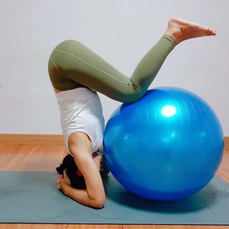 Fitness Ball Yoga Ball PVC Material Thickening Explosion-proof Gymnastics Yoga Ball Big Dragon Ball Exercise Ball