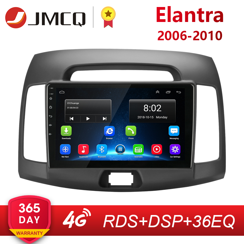 Android 8.1 2G + 32G 2Din 4G Auto Radio Multimedia Video Player für <font><b>Hyundai</b></font> <font><b>Elantra</b></font> 4 HD 2006 -<font><b>2010</b></font> Navigation GPS AutoStereo + Rahmen image