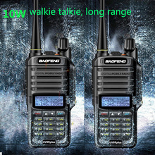 Uhf Vhf Walkie-Talkie Ham Radio Uv9r Plus Baofeng Uv Comunicador Waterproof Cb 10w Fm