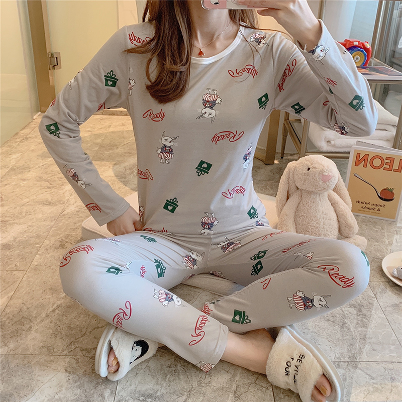 New Womens Thermal Underwear 2019 Autumn Winter Long Johns Lace Keep Warm Print Mid-Rise Ladies Sexy Thermal Underwear Girls