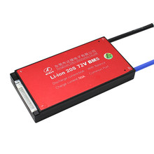 SmartBms 3.6V 3.7V Battery pack 20S 72V Li-ion battery bms 18650 BMS 30A 40A 50A 60A Charging Voltage 54.6V With balance(China)