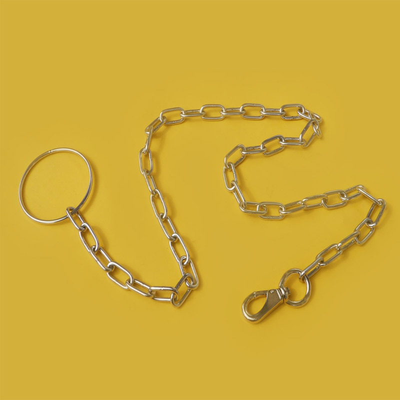 Pet Stainless Steel Iron Chain Pet Traction Rope Large Dog Chain Large, Medium And Small Size Pet Supplies