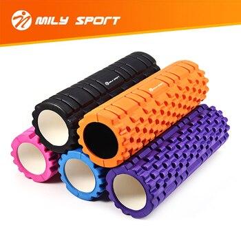 Column Yoga Block Fitness Equipment Pilates Yoga Foam Roller EVA Fitness Gym Exercise Muscle Massage Roller Yoga Brick for Women
