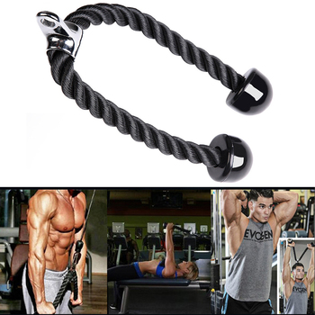 Fitness Equipment Nylon Drawstring Biceps Drawstring Triceps Drawstring For Exercise Triceps, Biceps, Back, Shoulder And Abdom фото