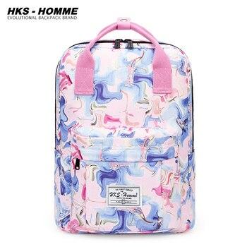 Fashion 2020 Backpack Women Preppy School Bags For Teenagers Female Canvas Travel Girls Laptop Mochilas