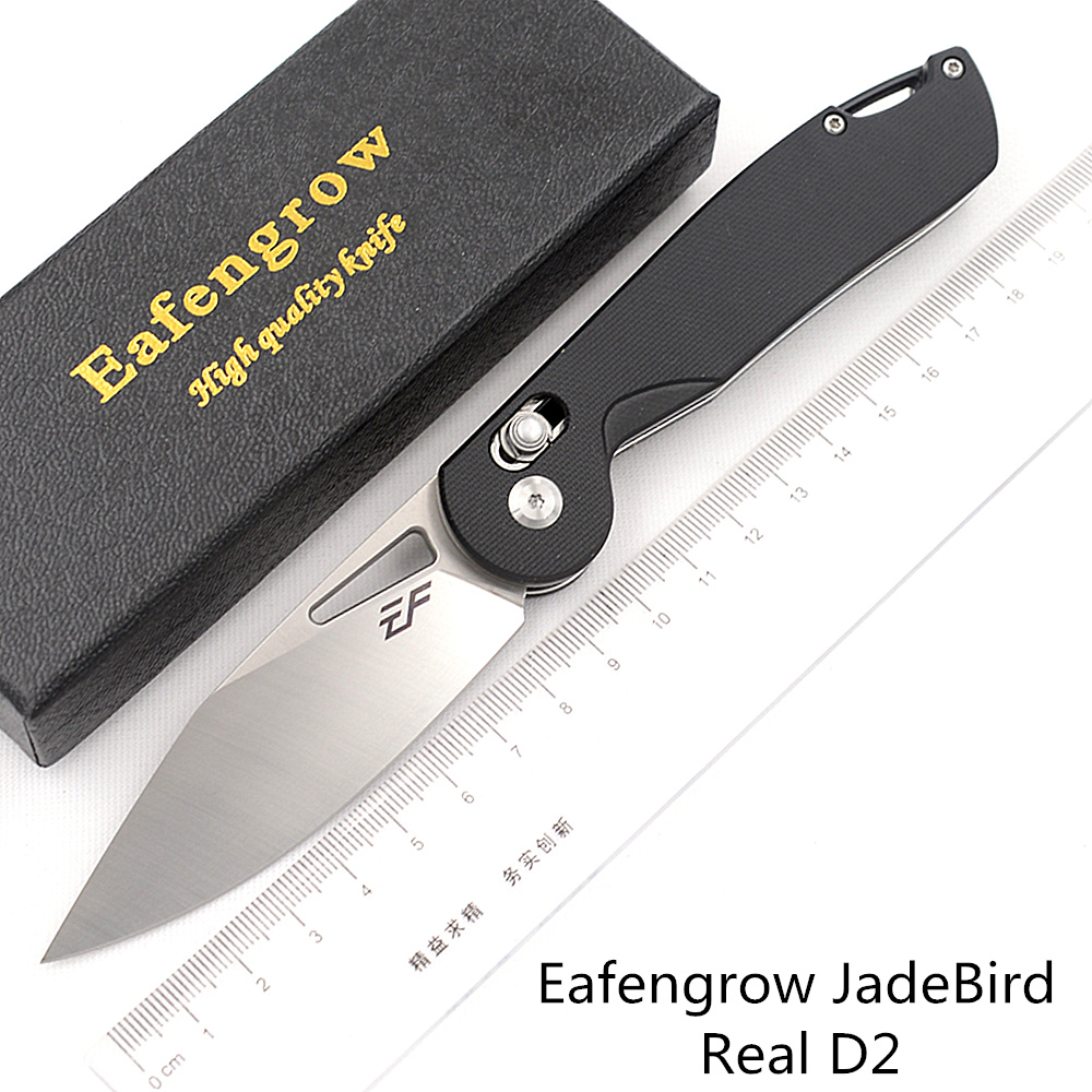 EF JadeBird D2 steel Folding G10 234 36 81 196 187 Contact me Camping Hunting Kitchen Survival Outdoor EDC Tool Utility Knife