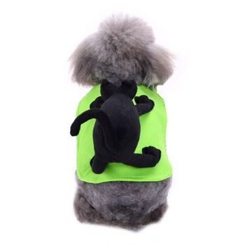 Halloween Dog Costumes Funny Pet Clothes Novelty Dog Cosplay Costume Sets For Medium Large Dogs Bulldog Pug pet supplies image