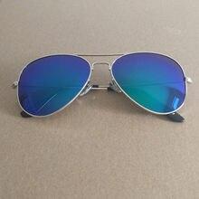 Gafas de sol polarizadas de colores, clásicas 2020, gafas de sol con montura de Metal, gafas de sol con película de Color 3025