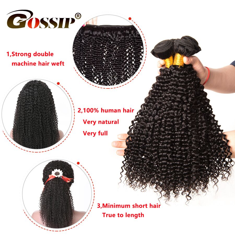 8 to 30 Inch In Stock Brazilian Hair Weave Bundles Afro Kinky Curly Hair Bundles 100% Human Hair Bundles Non Remy Hair Extension