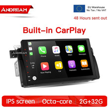 Android 8.1 Car Radio IPS Screen GPS Navigatie For BMW 3-series /E46/M3/MG/ZT Octa-Core 2G/32G Bulit-in CarPlay android 7 1 car dvd player stereo radio ips screen gps navigation for bmw e46 m3 mg zt quad core 2g 16g bulit in carplay