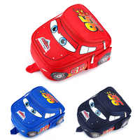 Disney car cartoon Kindergarten bag for school children backpack boy book bag waterproof 2-6 years old bookbag small backpack