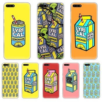 Drink Lyrical Lemonade Aliens 3D shell Transparent Phone Case hull For HUAWEI honor mate 7A 8S 8X 9 9X 10 20 30 pro lite image