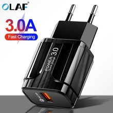 3A Quick Charge 3.0 USB Charger EU US Mobile Phone
